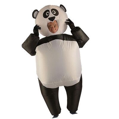 Aufblasbares Panda Kostüm Fatsuit Fett Anzug Cosplay Kostüm für Halloween