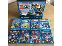 Wii U Lego City Undercover limited edition Console with many games