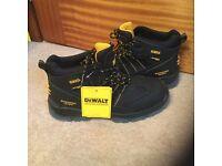 Dewalt safety work boots black