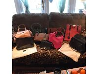 Real leather designer handbags all New unwanted gifts