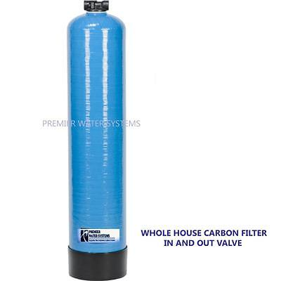 Premier Whole House Water Filtration System 1  In Out Head Coconut Shell Carbon