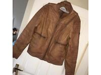 Men's Guess Leather Jacket