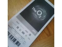 Rod Stewart O2 tickets