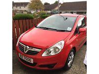 08 Vauxhall corsa life