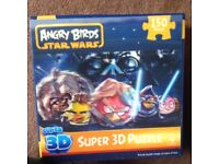 Angry birds 3D puzzle