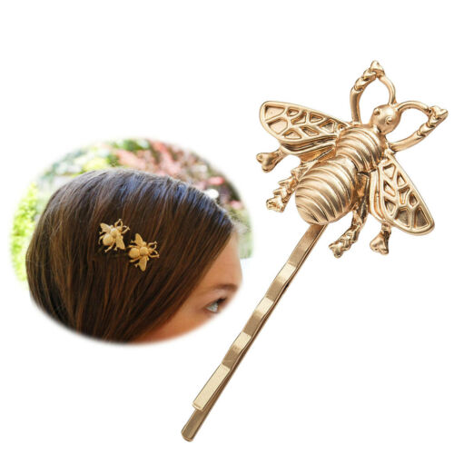Women Fashion Jewelry Bee Hairpin Side Clip Hair Accessories