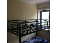 Metal Triple Bunk Bed Fram
