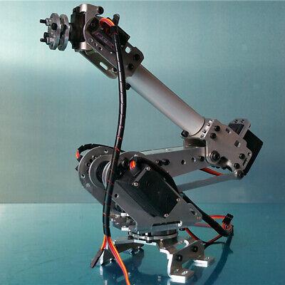 Manipulator Kits Diy 6-dof 6 Axis Robot Arm Circuit Kits For Arduino Study