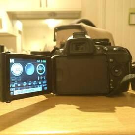 Nikon D 5200 18 months old