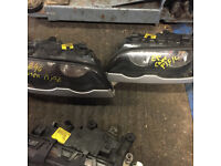 BMW E46 PRE FACELIFT COUPE HEAD LIGHT FOR SALE CALL PARTS
