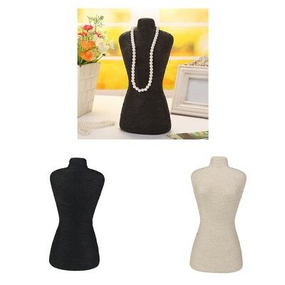 Mannequin Torso Body Dress Form For Dress Clothing Jewellery Display