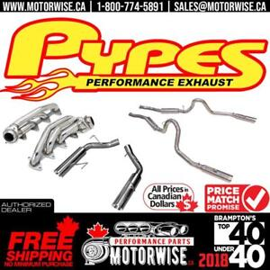 Pypes Performance Exhaust | Free Shipping Canada Wide | No Customs or Duty Fees! only at www.motorwise.ca