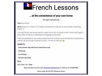 French Lessons!! School levels, Help w/French classwork, Holiday Tips, Revision -GCSE prep