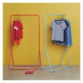 Habitat Red Clothes Rail Hanger Hanging