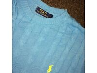 Urgently selling Ralph Lauren Blue Jumper Polo LARGE