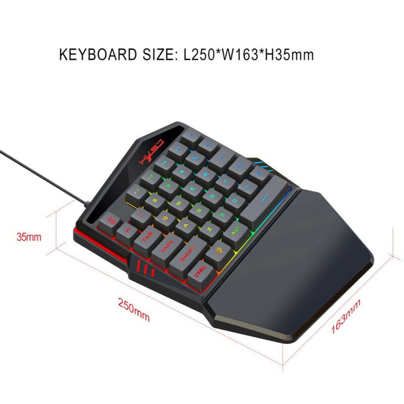 And Mouse Portable Backlight Mouse