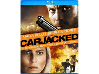 DVD FILM MOVIE BLURAY CARJACKED BLU RAY LOOK SPECIAL FEATURES MARIA BELLO BNIB.*