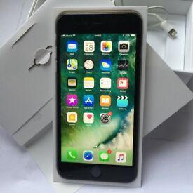 iPhone 6 Plus Black 64GB on Vodafone, Lebara, Ownphone, TalkTalk Mobile & Zest4 Mobile
