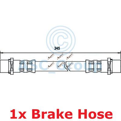 Apec BRAKING 245mm Bremsscheiben Bremssattel Flexible Gummi Schlauch HOS3238