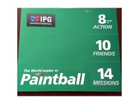 20 Paintball Tickets & 2000 bullets - Paintball Group IPG - QUICK SALE