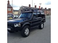 Land Rover discovery td5 metropolis