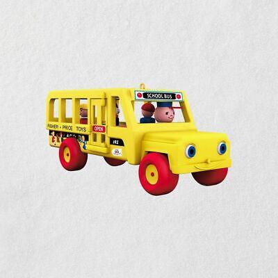 Hallmark Ornament - Mini - Fisher Price School Bus