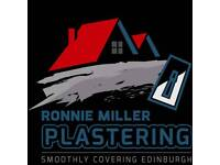 Plasterer Smoothly Covering Edinburgh