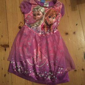3T Little Girl's Frozen Pajamas