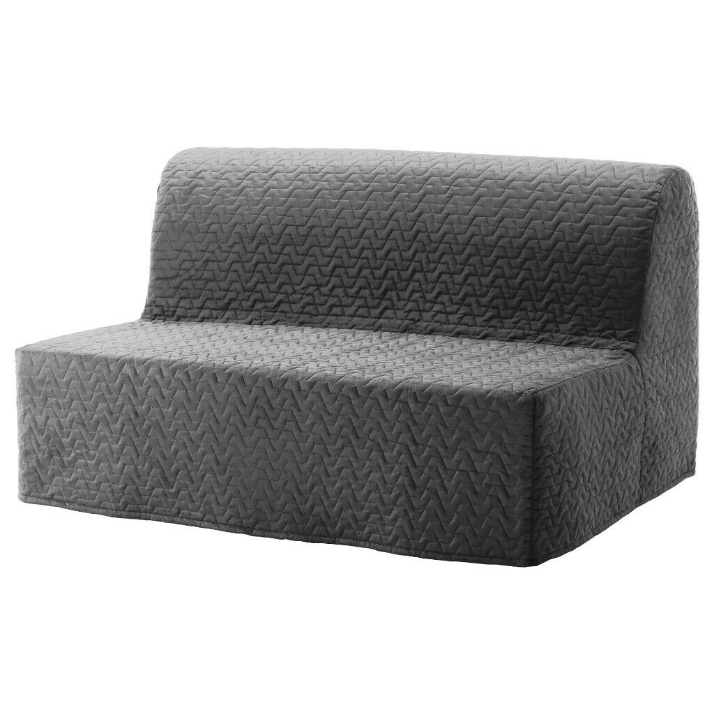 IKEA Lyksele Sofa Bed (140cm Wide) With 5cm Mattress