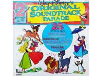 Walt Disney Soundtrack Parade Double Albums