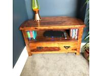 Solid wood TV Unit and Coffee table ( 6 months old)