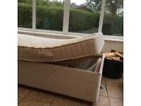 Electric operated single bed