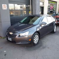 2011 Chevrolet Cruze LT Turbo, LOW KMS, ACCIDENT FREE!