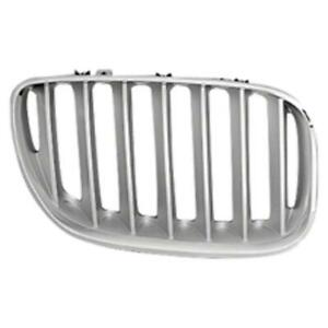 BMW X5 Grille Chrome/Gray Passenger Side [From October 2003 To 2006]