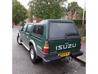 For sale solid, genuine, Isuzu Rodeo 3.0 TD 4x4 Diesel, very clean inside out,has MOT till June 2017