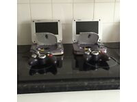 Twin DVD and games console set