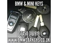 BMW & MINI KEYS (ALSO OTHER BRANDS) FROM £90