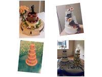 £1 cupcakes, £40 celebration cakes, £45 wedding cakes, giant cupcakes £35