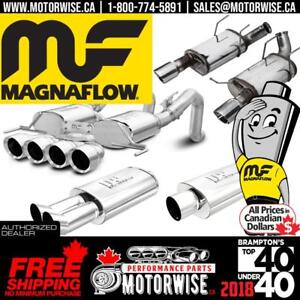 5% OFF Magnaflow Exhaust Systems & Mufflers | Browse & Shop today at www.motorwise.ca | Free Shipping Canada Wide