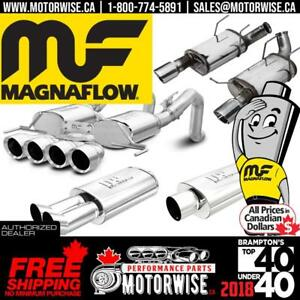 Magnaflow Exhaust Systems & Mufflers | Browse & Shop today at www.motorwise.ca | Free Shipping Canada Wide