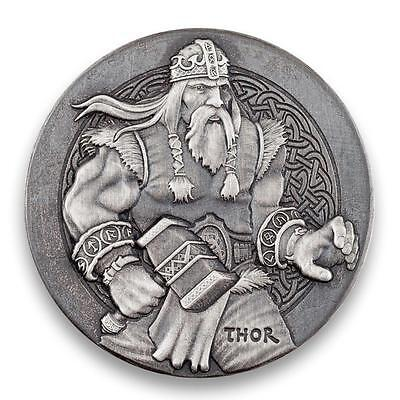 2016 2 oz Silver Coin THOR Viking Series by Scottsdale Mint .999 Silver #A429