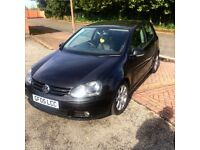 Vw golf gt fsi may px or swap for transit