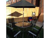 Garden table andchairs
