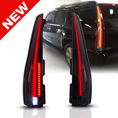 FIT 07-14 Chevrolet Suburban Tahoe Yukon Escalade Style LED Tail Light Rear Lamp