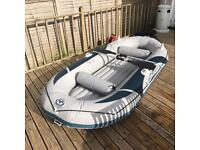 Inflatable fishing boat dingy blow up Aquamarina BT-888880