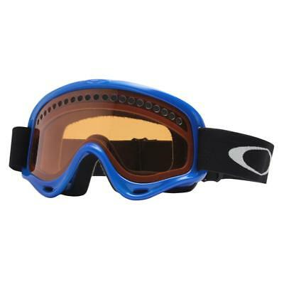 6e6154a1bdf Oakley 02-476 XS O FRAME Bright Blue w  Persimmon Youth Boys Snow Ski  Goggles .