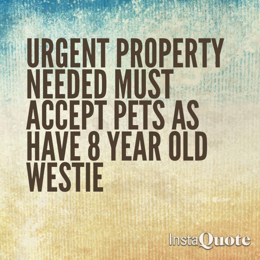 Property needed