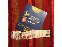Panini World Cup Russia 2018 Stickers Swap