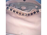 Mulberry pink/peach colour leather tote bag. Genuine article