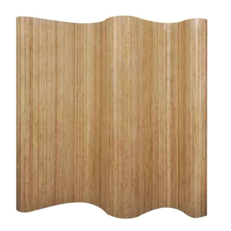 """Room Divider Bamboo Natural 98.4""""x65"""""""